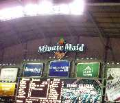 Astros Game 09 2007 Minute Maid Sign