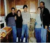 David, Mom , Dad, Pat And Bruce And Wolfy