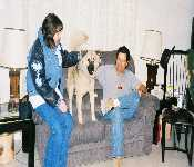 Marlene Dad And Wolf 1999