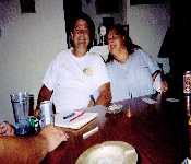 Mom And Dad Playing Cards At Westpark