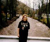 Mom On A Bridge